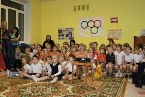 Олимпиада 2014 в детском саду №470
