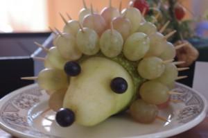 Поделки из овощей и фруктов